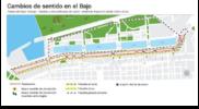 Nuevo Sentido del tránsito de camiones en Puerto Madero